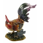 Cockeral Rooster Trinket Box
