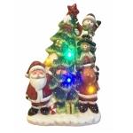 Santa Christmas Tree Musical  and Light Up Christmas Decoration