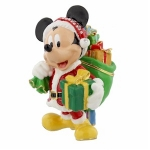 Santa Mickey Mouse Trinket Box