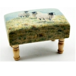 Sheep Rectangular Footstool