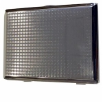 Silver Barley Squares Double Cigarette Case
