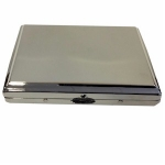 Silver Plain Polished Double Cigarette Case