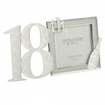18th Silver Plated Photo Frame