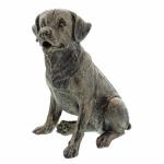 Small Bronze Dog Ornament