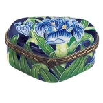 Small Iris Trinket Box