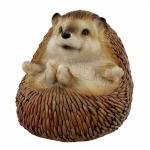 Small Lying On Back Hedgehog Ornament