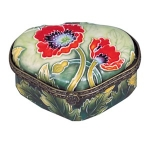 Small Poppy Trinket Box