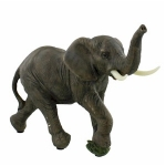 Small Standing Elephant Ornament