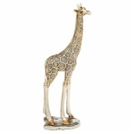 Soft Gold Standing Giraffe Ornament