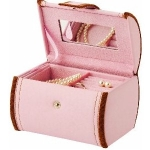 Soft Pink Cleo Jewellery Box