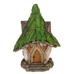 Solar Powered Fairy House Woodland Cottage