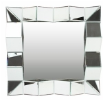 Square 3D Effect Wall Mirror