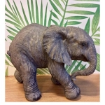 Standing Baby Elephant Ornament