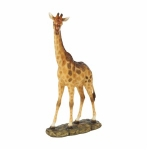 Standing Giraffe on a Base Ornament