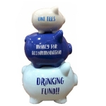 Student Triple Stacked Piggy Bank