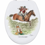 The Flying Squad Novelty Toilet Seat