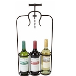 Three Wine Bottle Holder
