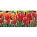 Tulip Fields Rectangular Tile