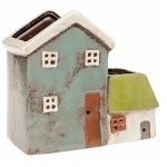 Village Pottery Small House Plant Pot