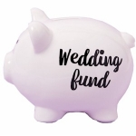 Wedding Fund Piggy Bank