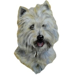 West Highland Terrier Dog Lead Hanger