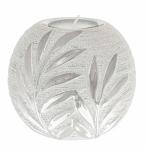 Willow Silver Modern Tealight Holder
