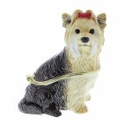 Yorkshire Terrier Trinket Box