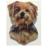 Yorkshire Terrier Dog Lead Hanger